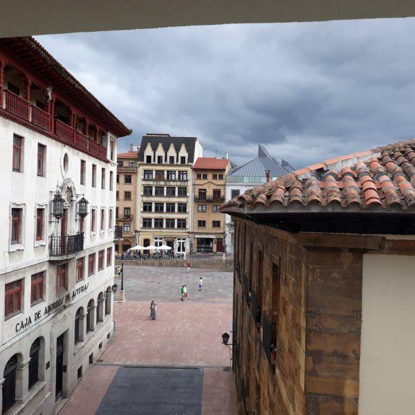 Apartamentos Oviedo Catedral vistas desde 4